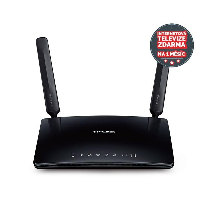 Router TP-Link Archer MR200 4G/LTE + IP TV na 1 měsíc ZDARMA (Archer MR200)