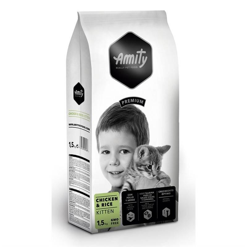 Granuly Amity premium cat KITTEN Chicken & Rice 1,5kg