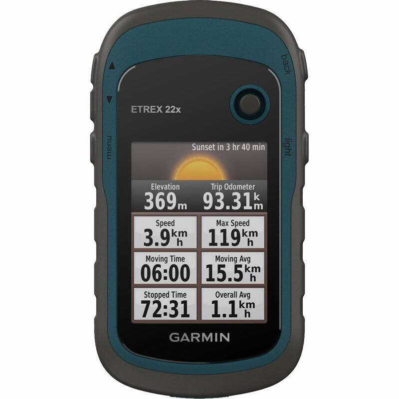 Cyklopočítač s GPS Garmin Garmin eTrex 22x Europe46 (010-02256-90) černá/modrá
