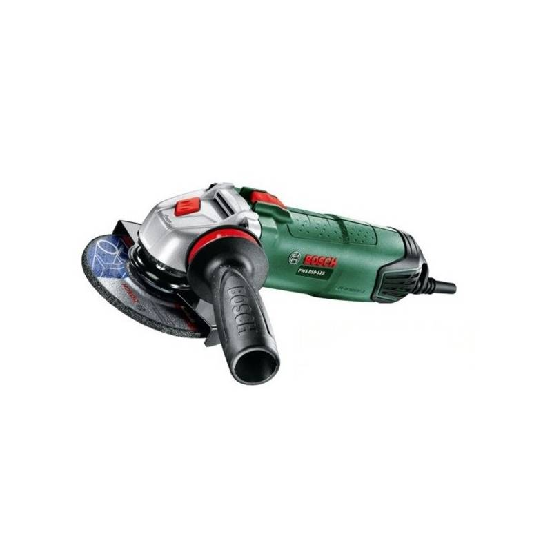Uhlová brúska Bosch PWS 850-125 + diam. kotouč + Doprava zadarmo