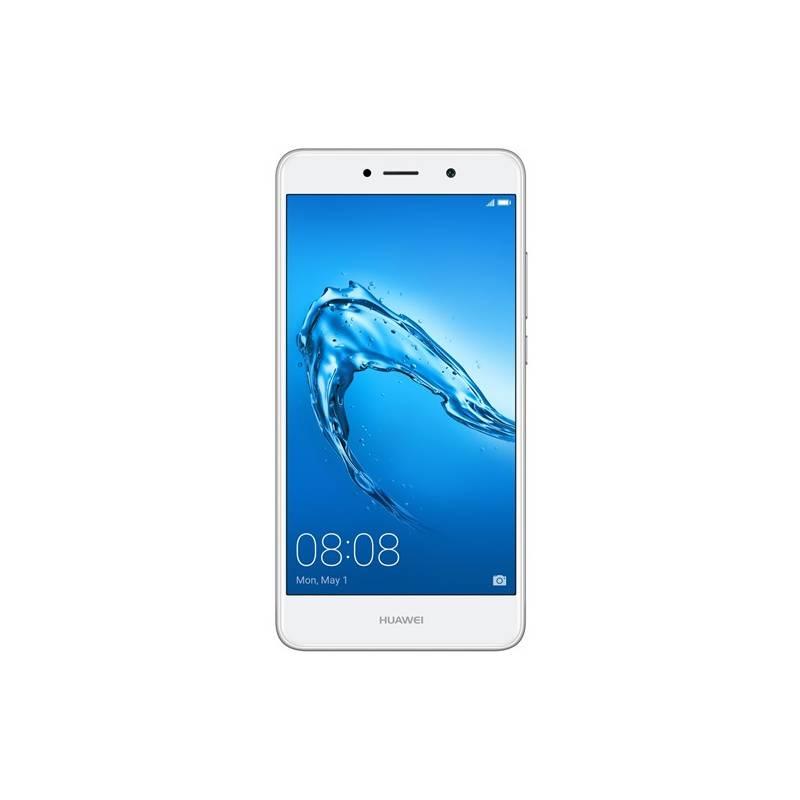 Mobilný telefón Huawei Y7 Dual SIM (SP-Y7DSSOM) strieborný