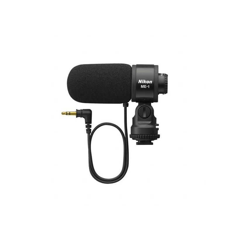 Príslušenstvo pre fotoaparáty Nikon ME-1 STEREO pro Nikon 1 V1/P7000/D800/D7000/D300s/D3s čierny + Doprava zadarmo