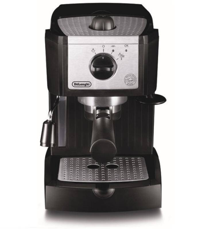 Espresso DeLonghi EC 156.B čierne/strieborné