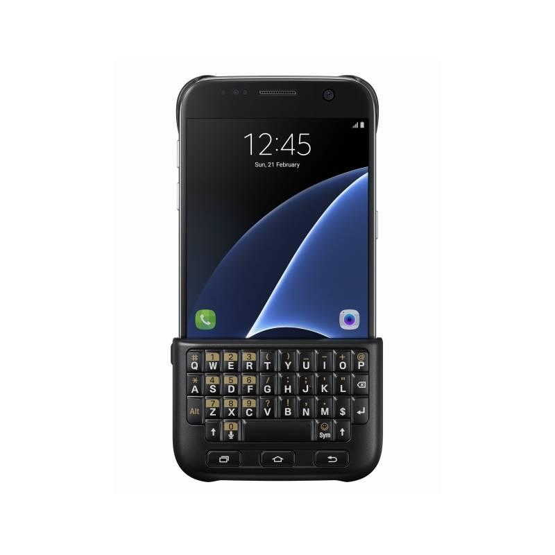 Kryt na mobil Samsung s klávesnicí pro Galaxy S7 (EJ-CG930UBEGGB) černý