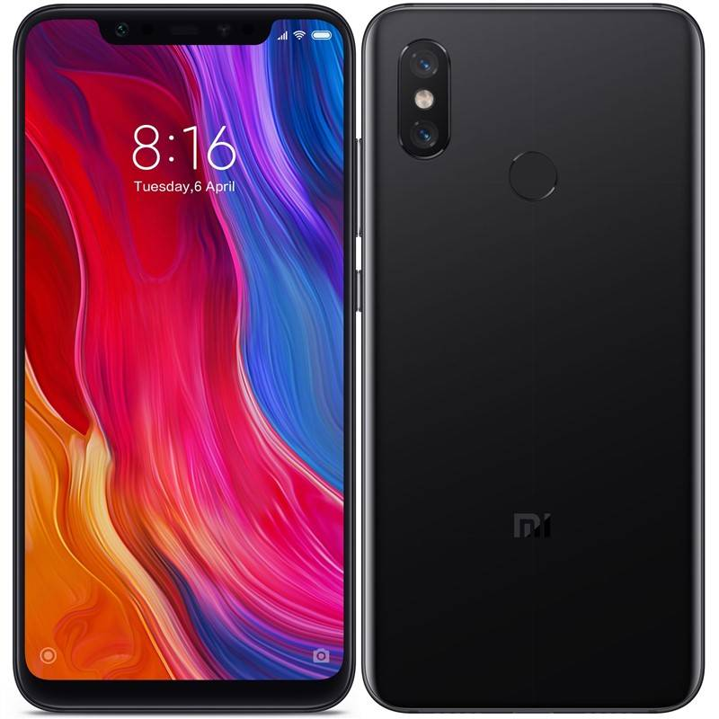 Xiaomi Mi 8 Dual SIM 128 GB (19490) černý