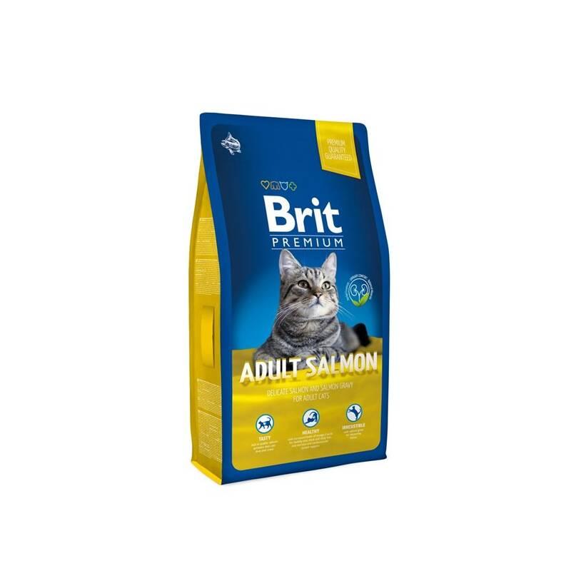Granule Brit Premium Cat Adult Salmon 1,5kg