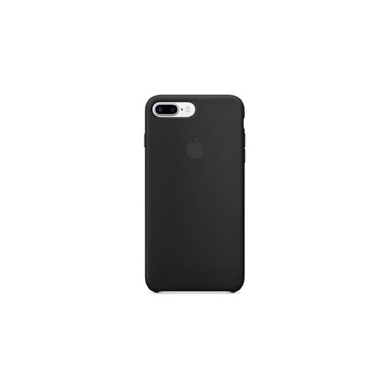 Kryt na mobil Apple Silicone Case pro iPhone 8 Plus   7 Plus (MMQR2ZM A)  černý db5d7942e5f