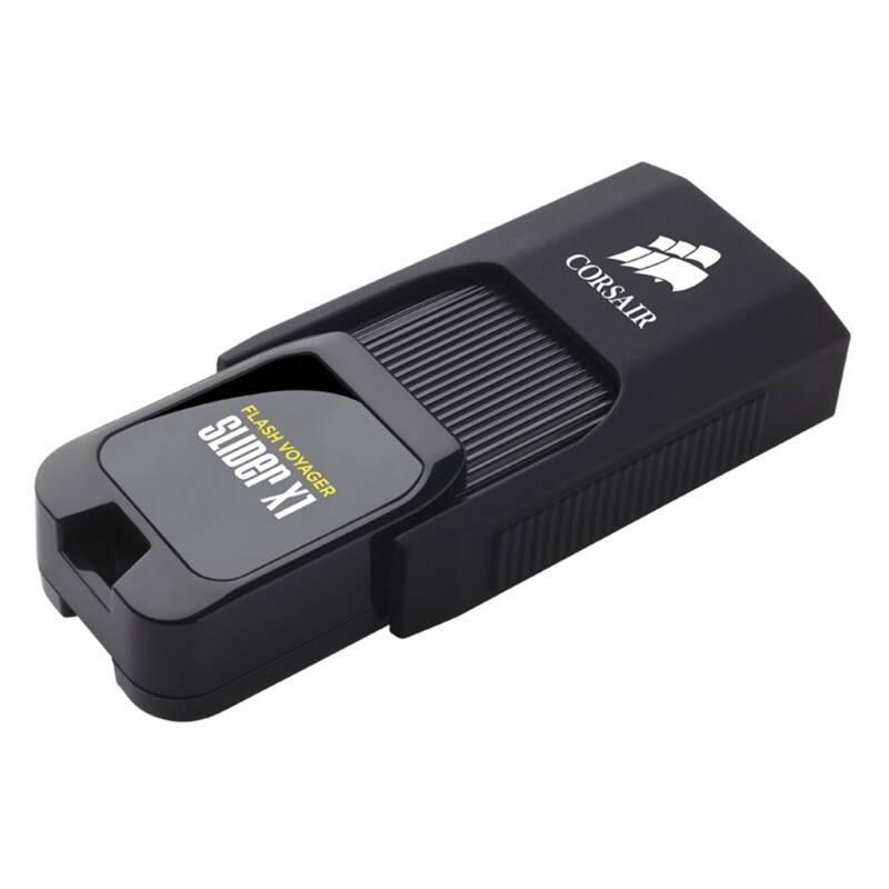 USB flash disk Corsair Voyager Slider X1 32GB (CMFSL3X1-32GB) čierny