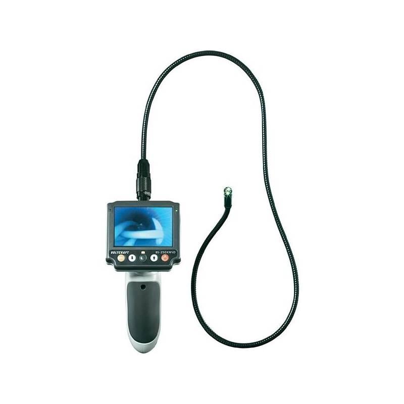 Endoskop Voltcraft BS-250XWSD s odnímatelným displejem a slotem pro microSD kartu + Doprava zadarmo