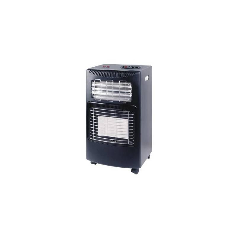 Kachle plynová CEV KOMBI elektrika/plyn (LQ-HE01) Obal na plynové kamnal Campingaz (zdarma)Sada Meva pro připojení spotřebičů k PB lahvi - Typ NP01007 (zdarma)