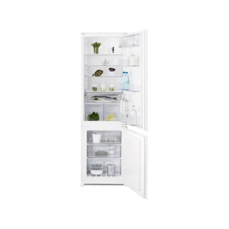 Kombinácia chladničky s mrazničkou Electrolux ENN2812COW biela + Doprava zadarmo