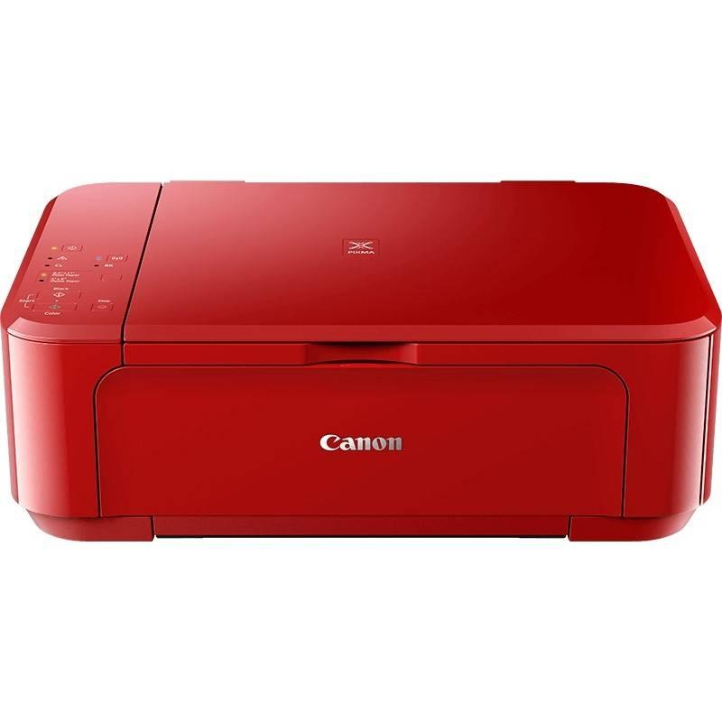 Tiskárna multifunkční Canon PIXMA MG3650S (0515C112) červená