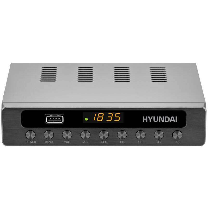 Set-top box Hyundai DVBT 250 PVR čierny