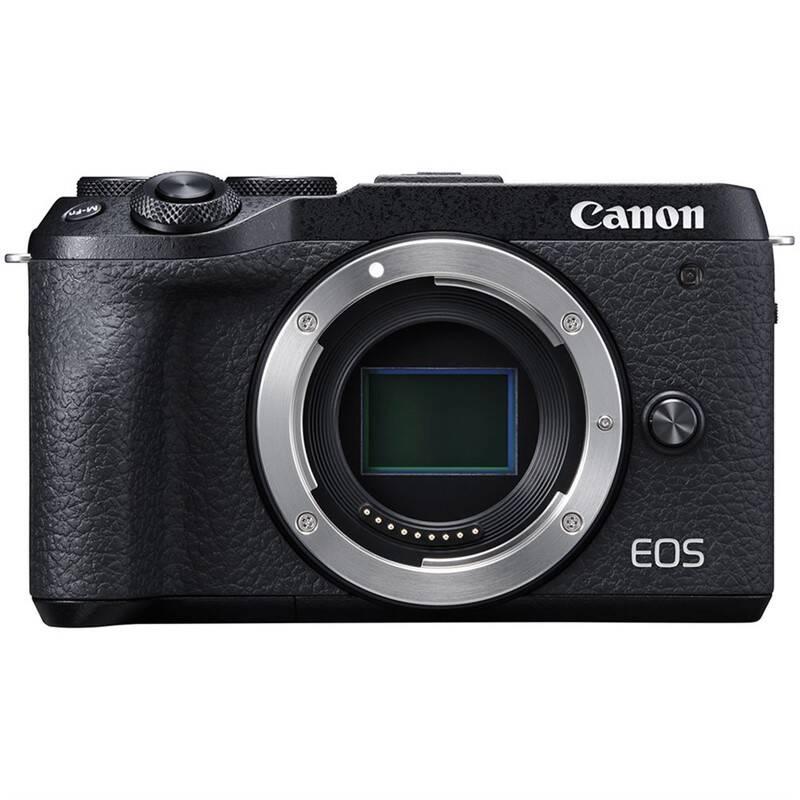 Digitálny fotoaparát Canon EOS M6 MARK II, telo (3611C002) čierny
