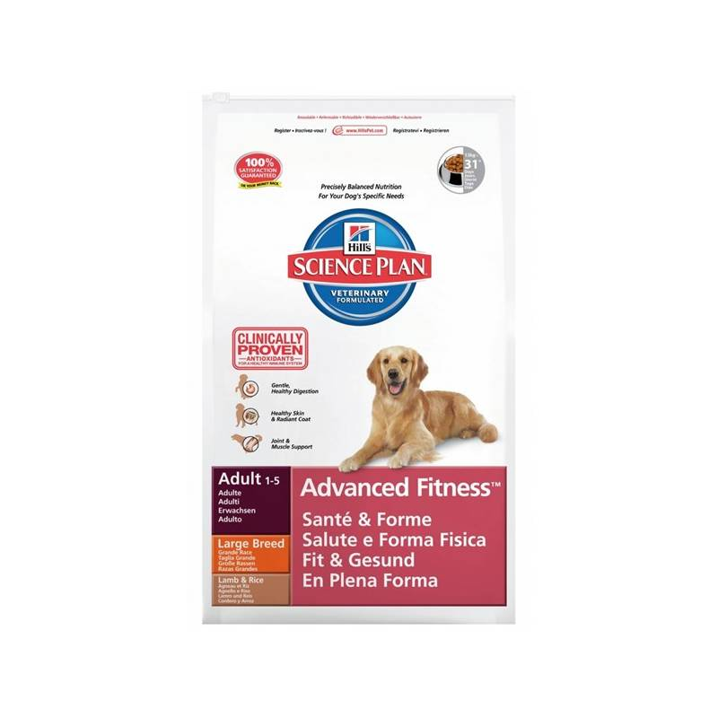 Granule Hill's Canine Adult LB Lamb&Rice 12 kg Antiparazitní obojek Scalibor Protectorband pro psy - 48 cm