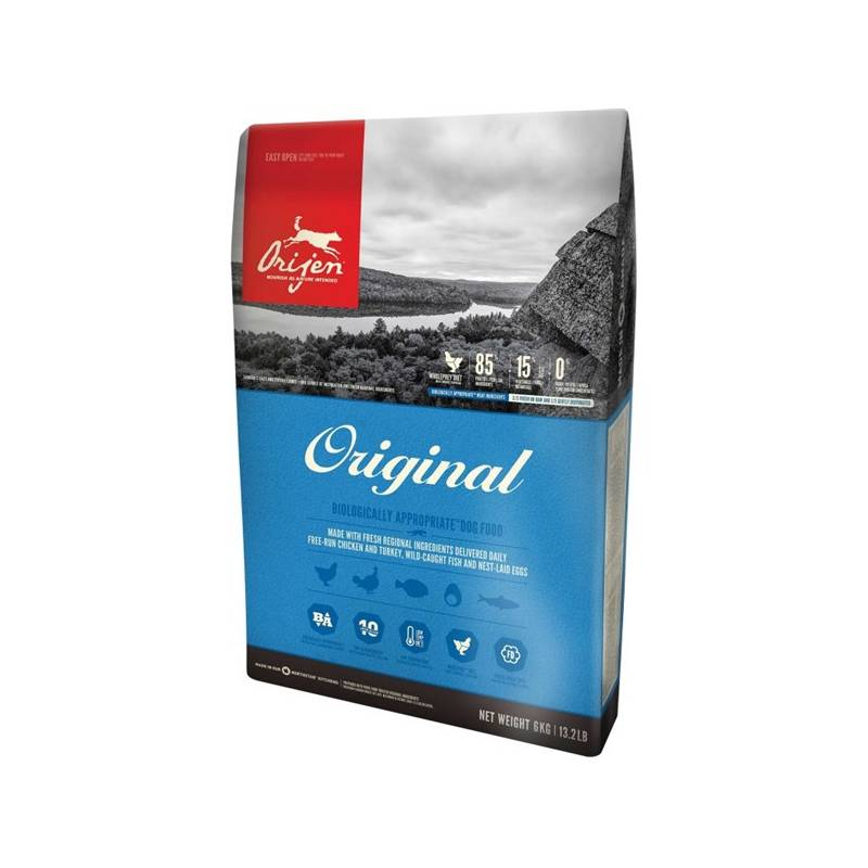 Granuly Orijen Dog Original 11,4 kg + Doprava zadarmo