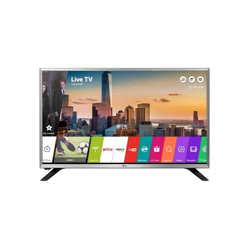 Televízor LG 32LJ590U strieborná + Doprava zadarmo