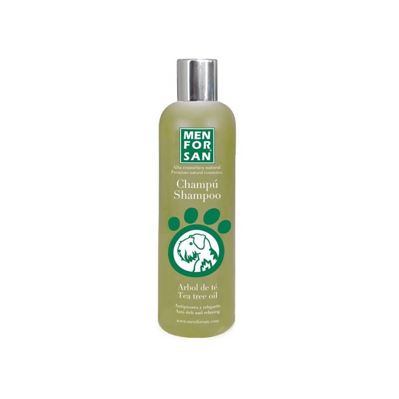 Šampón Menforsan přírodní proti svědění s Tea Tree olejem 300 ml