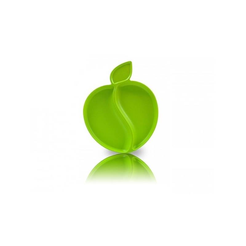 Detský tanier Pacific Baby Bamboo Apple Green zelený + Doprava zadarmo