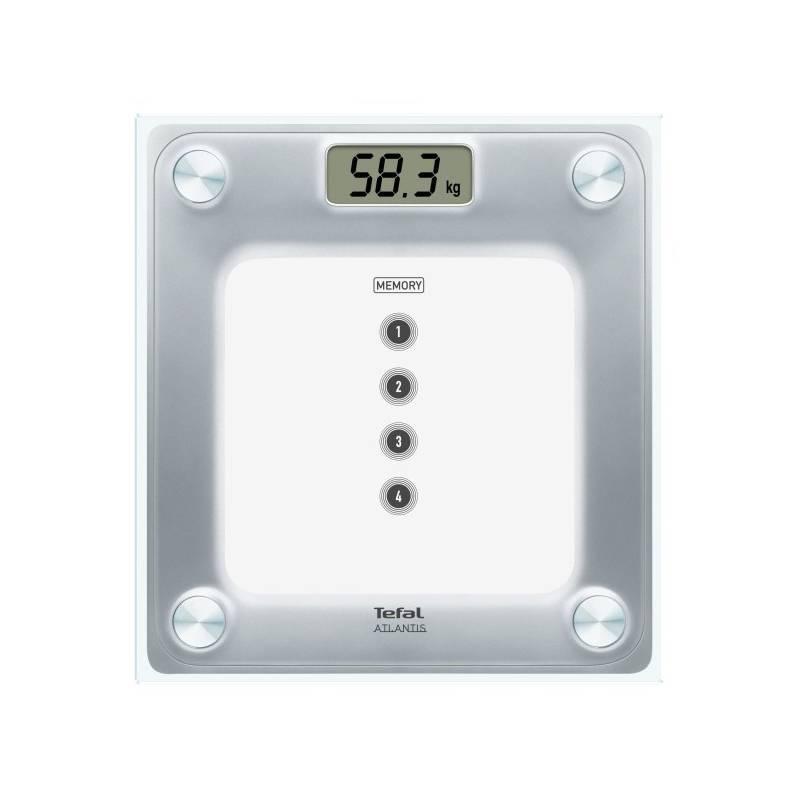 Osobná váha Tefal PP3020V0 strieborná/sklo