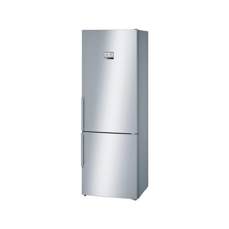 Kombinácia chladničky s mrazničkou Bosch KGN49AI31 nerez + dodatočná zľava 10 % + Doprava zadarmo