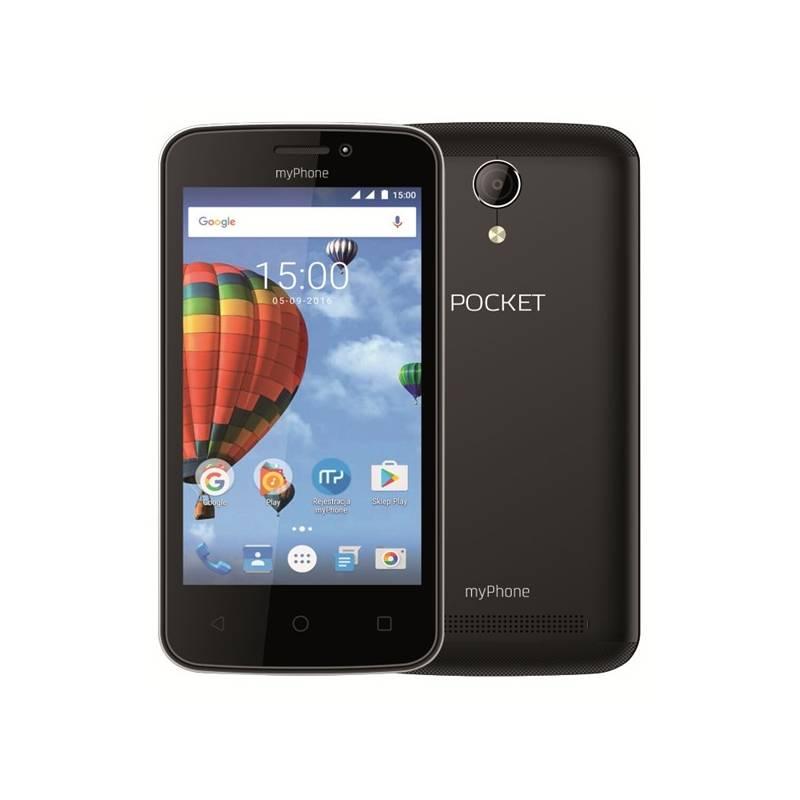 Mobilný telefón myPhone POCKET (TELMYAPOCKETBK) čierny Software F-Secure SAFE, 3 zařízení / 6 měsíců (zdarma)