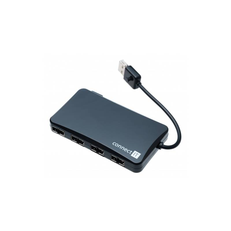 USB Hub Connect IT (CI-141) USB 2.0 / 4x USB 2.0 (CI-141) černý