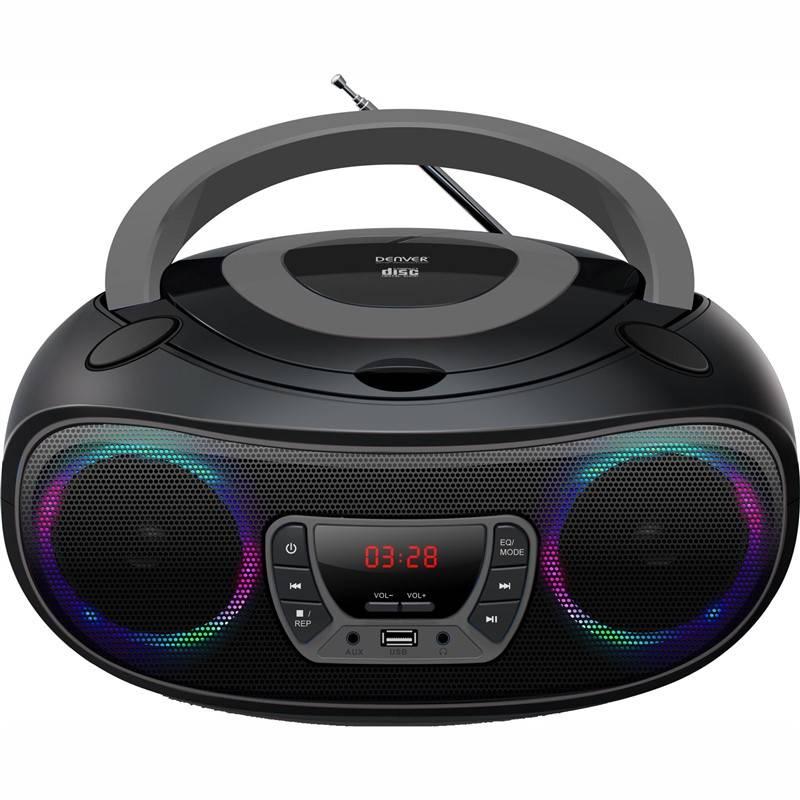 Radiopřijímač s CD Denver TCL-212BT černý