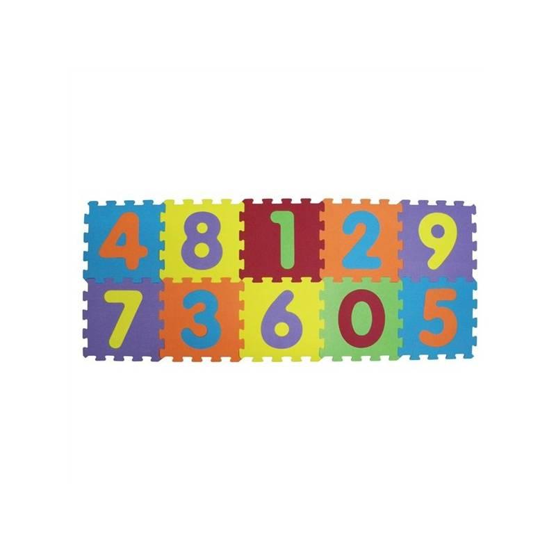 Penové puzzle Ludi - čísla + Doprava zadarmo