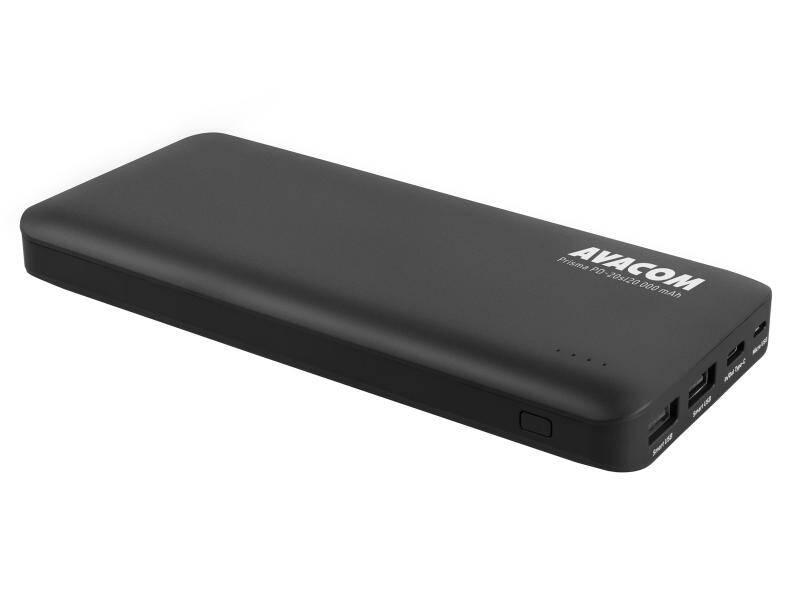 Power Bank Avacom 20000mAh, USB-C PD (PWRB-200K-PDs) čierna