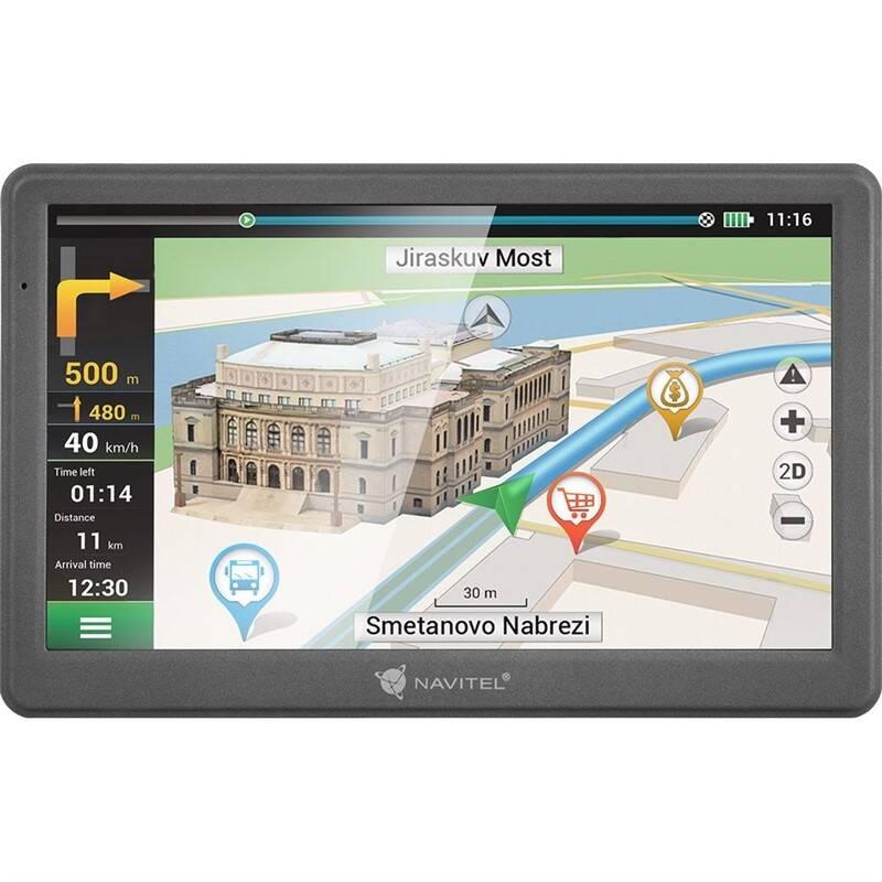Navigačný systém GPS Navitel E700 (C2047024) čierna + Doprava zadarmo
