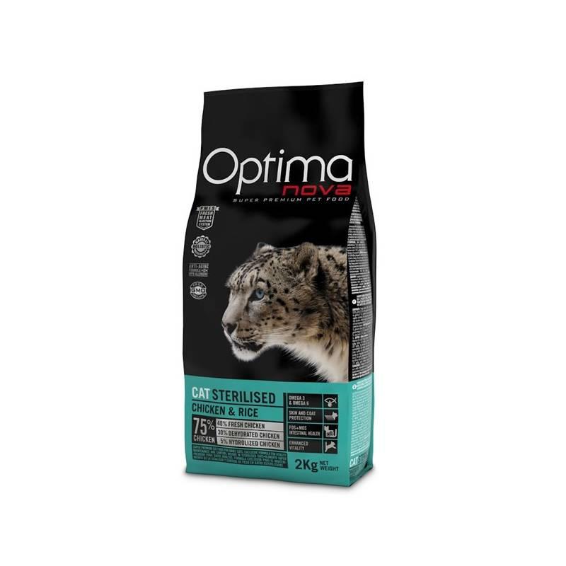 Granuly Optima nova Cat Sterilised 2 kg