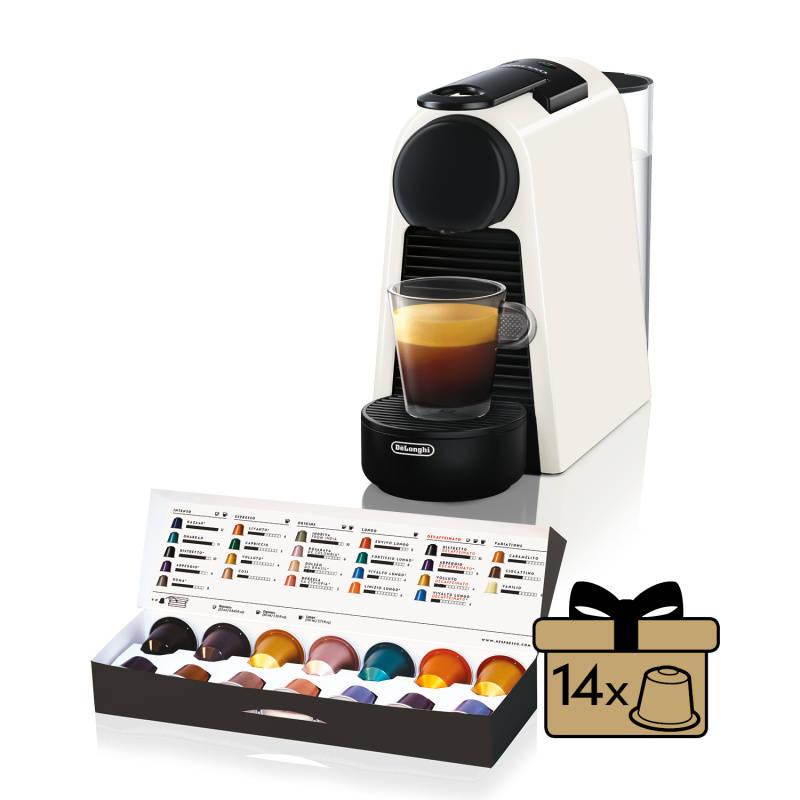 Espresso DeLonghi Nespresso Essenza Mini EN85.W biele