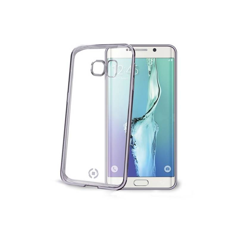 Kryt na mobil Celly Laser pro Samsung Galaxy S6 Edge (BCLS6EDS) čierny