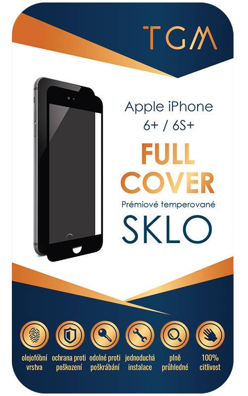 Ochranné sklo TGM Full Cover pro Apple iPhone 6 Plus/ 6S Plus (TGMAPIP6PBK) černé