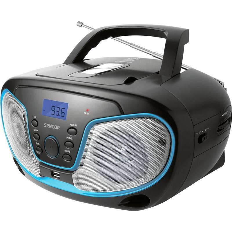 Radiopřijímač s CD Sencor SPT 3310 černý