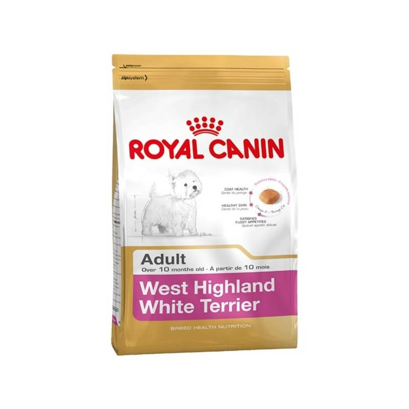 Granule Royal Canin West High White Terrier 3 kg