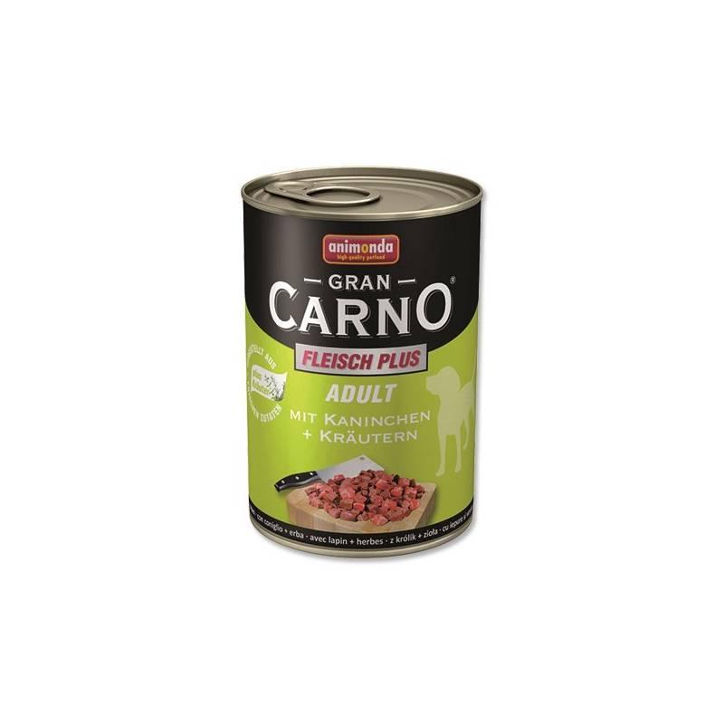 Konzerva Animonda Adult Gran Carno králík + bylinky 400g