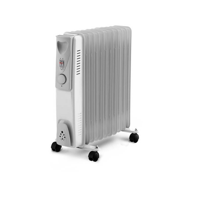 Olejový radiátor ELEM WTRBH2511 biely