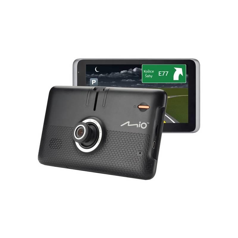 Navigační systém GPS Mio MiVue Drive 65LM, Truck/Karavan, s kamerou, mapy EU (44) Lifetime (5262N5380036) černá
