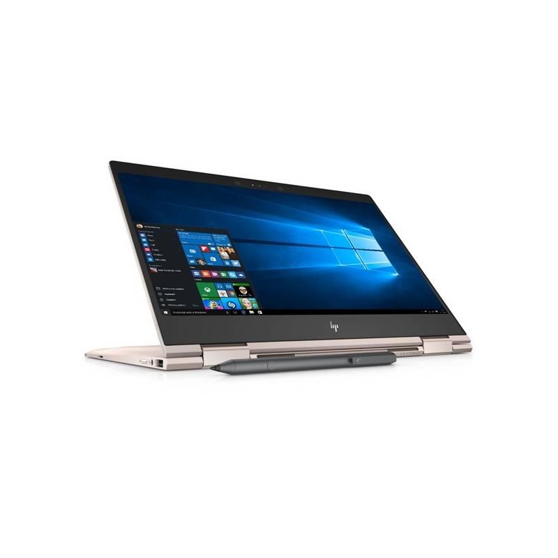 Notebook HP Spectre 13 x360-ae004nc (2ZG59EA#BCM) ružový + Doprava zadarmo