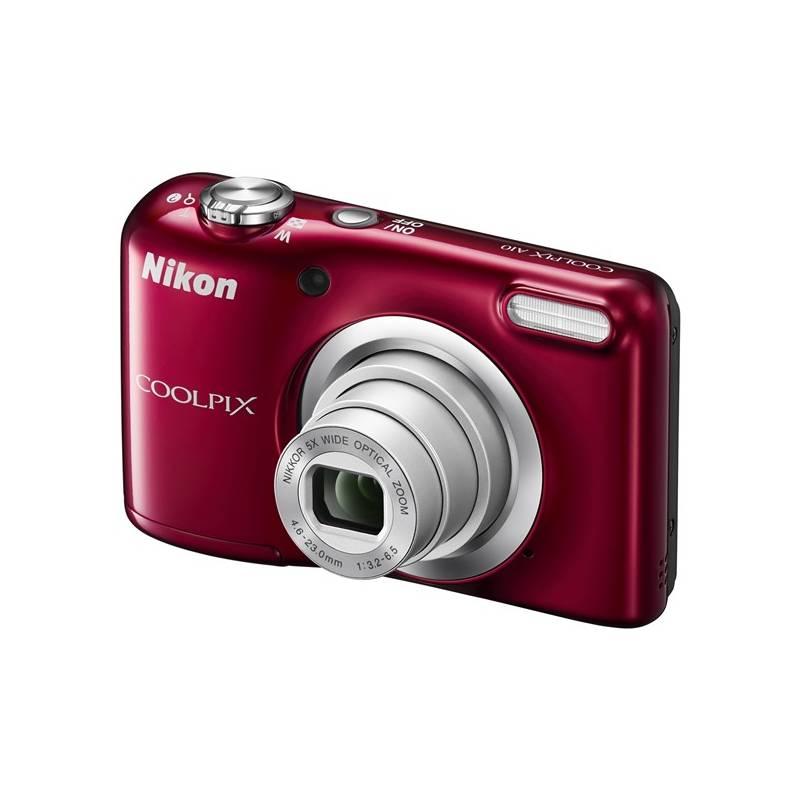 Digitálny fotoaparát Nikon Coolpix A10 červený