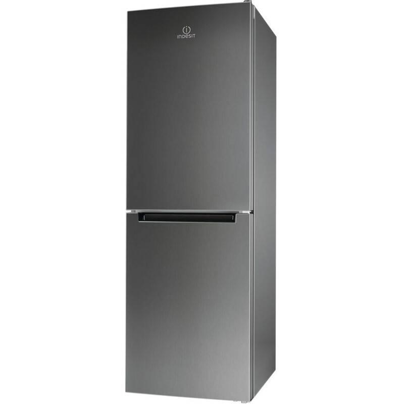 Kombinácia chladničky s mrazničkou Indesit Direct Cooling LR7 S2 X nerez + Doprava zadarmo