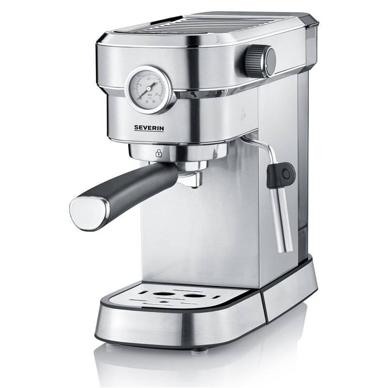 Espresso Severin KA 5995 strieborné + Doprava zadarmo
