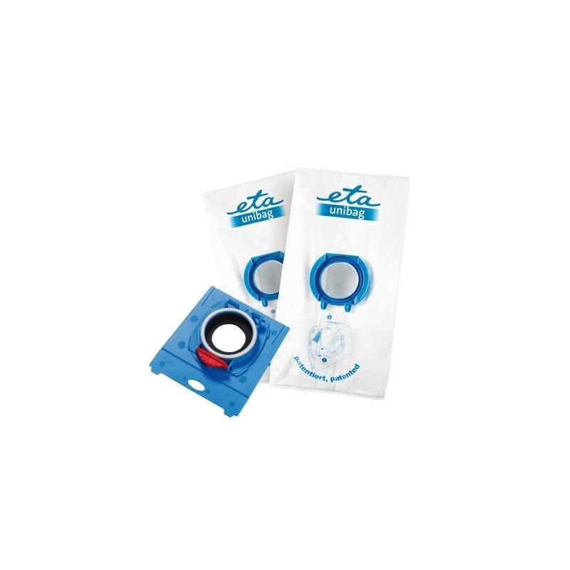 Sáčky pre vysávače ETA UNIBAG startovací set č. 3 9900 68040 - 1 x adaptér + 2 x sáček 3 l biely/modrý