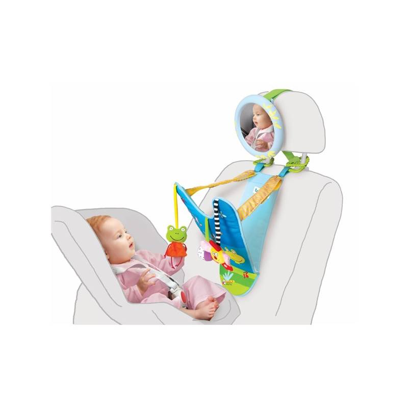 Hračka Taf Toys Počítadlo do auta so spätným zrkadielkom + Doprava zadarmo