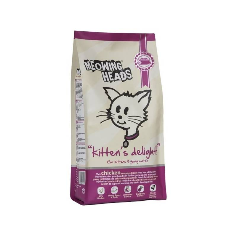 Granule Meowing Heads Kittens Delight 1,5 kg
