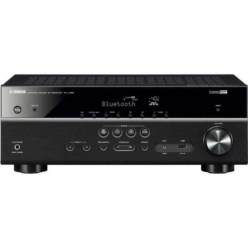 AV Receiver Yamaha RX-V385 čierny + Doprava zadarmo