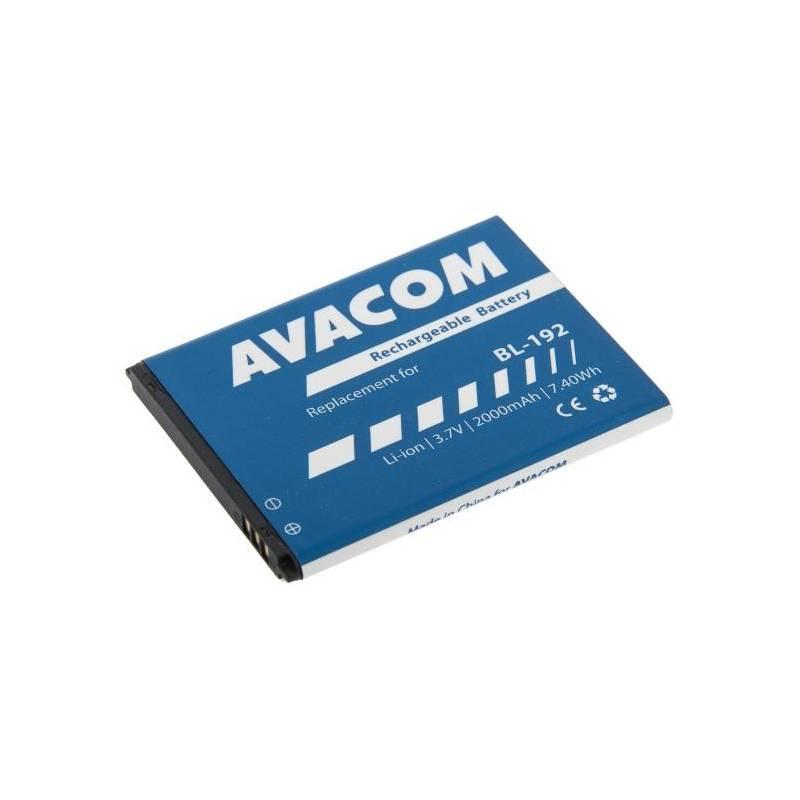 Baterie Avacom pro Lenovo A328, Li-Ion 3,7V 2000mAh (náhrada BL192) (GSLE-BL192-2000)