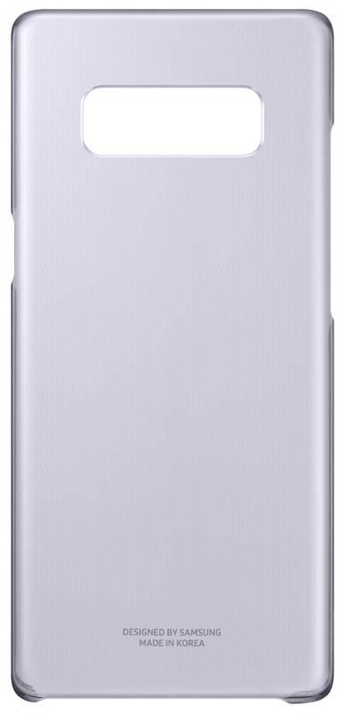 Kryt na mobil Samsung Clear Cover pro Galaxy Note 8 - orchid gray (EF-QN950CVEGWW)